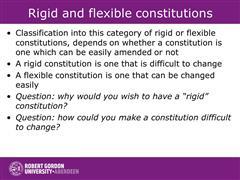 flexible constitution definition