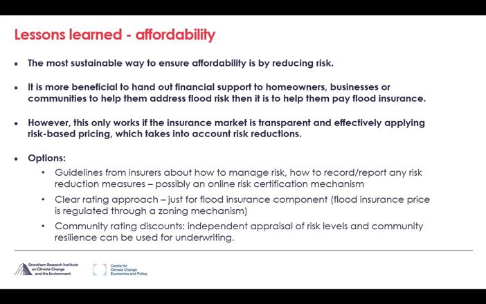 Flood Insurance Fit For The Future
