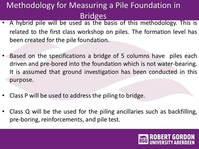 Where Pile Foundation Is Used